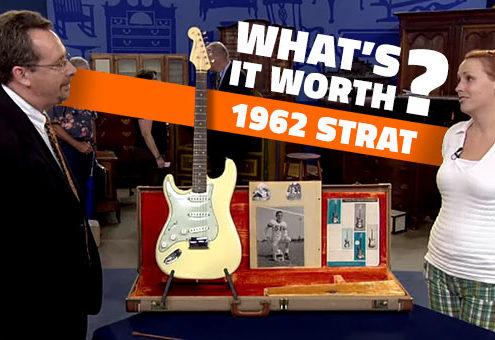 1962 Left Handed Fender Stratocaster