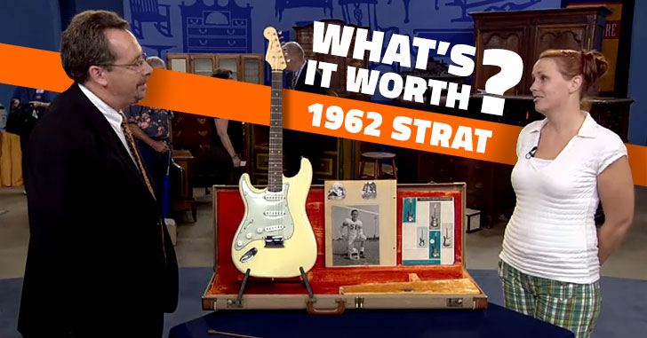 Antiques Roadshow Stratocaster Guitar