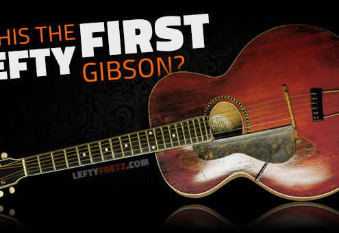 First Left Handed Gibson