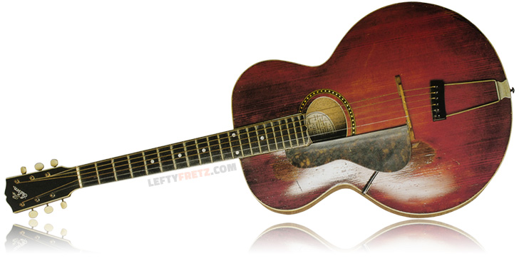 Left Handed 1915 Gibson L-4 Guitar