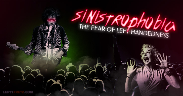 Sinistrophobia Fear of Left Handed People