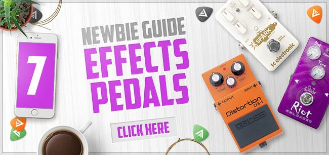 Best Beginner Guitar Effects Pedals