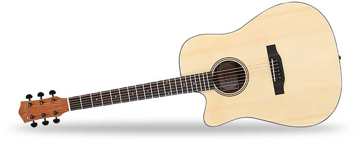 Best Left Handed Acoustic Guitars For Beginner Players