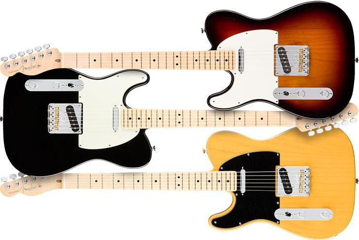 Left Handed Fender American Pro Telecaster