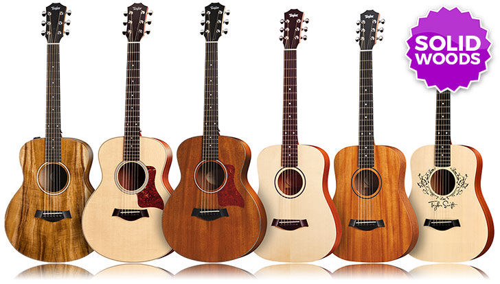 3/4 Size Acoustic Guitars Solid Top
