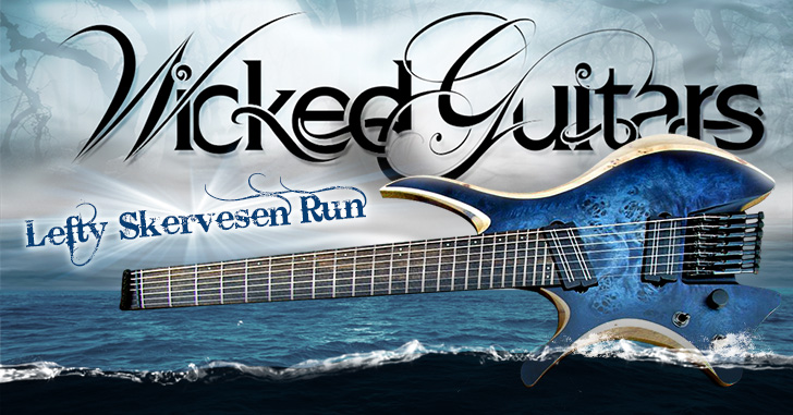 Wicked Guitars Skervesen Left Handed Run