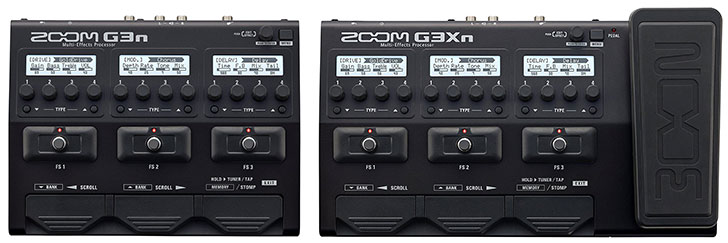 Zoom G3XN Effects Review