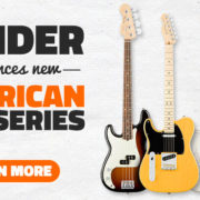 Fender Left Handed American Pro Series Guitars