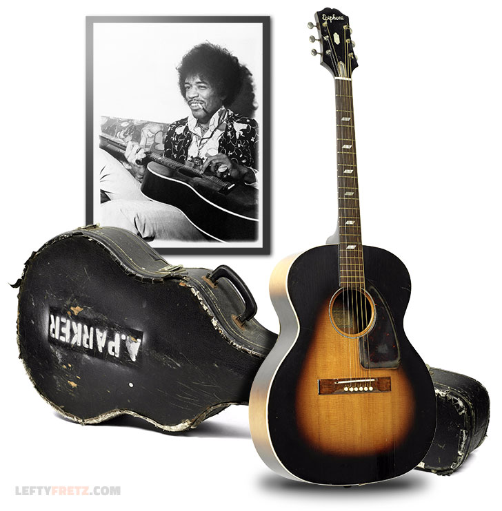 Jimi Hendrix Acoustic Guitar