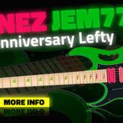 Ibanez JEM777 Steve Vai Left Handed Guitar