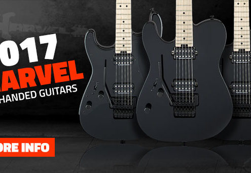 Left Handed Charvel Guitars