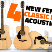Fender Lefty CD Acoustic Guitars