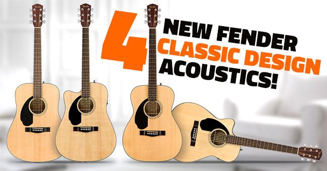 Fender Lefty CD Acoustic Guitars