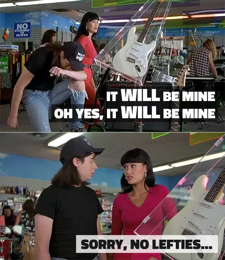 It Will Be Mine Waynes World