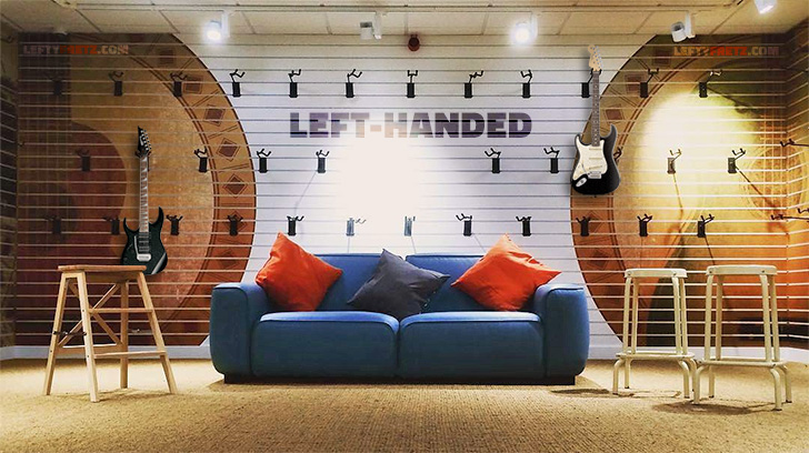 Left Handed Guitar Store