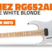 Lefty Ibanez RG652AHML Prestige Blonde