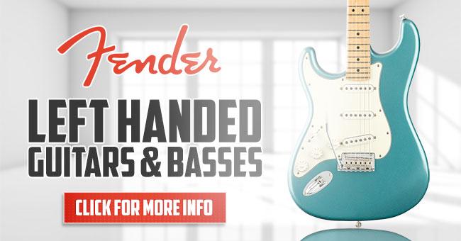 Left Handed Fender Guitars Basses