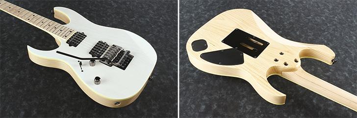 Left Handed white Ibanez Guitar