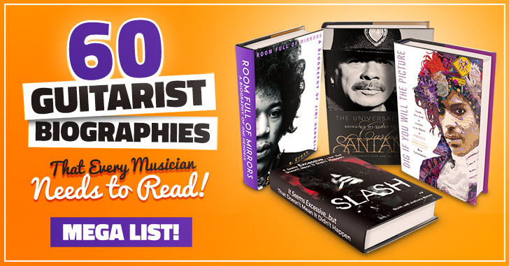 Best Famous Guitarist Biography Books