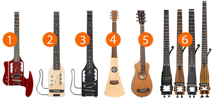 Best Left Handed Travel Guitars