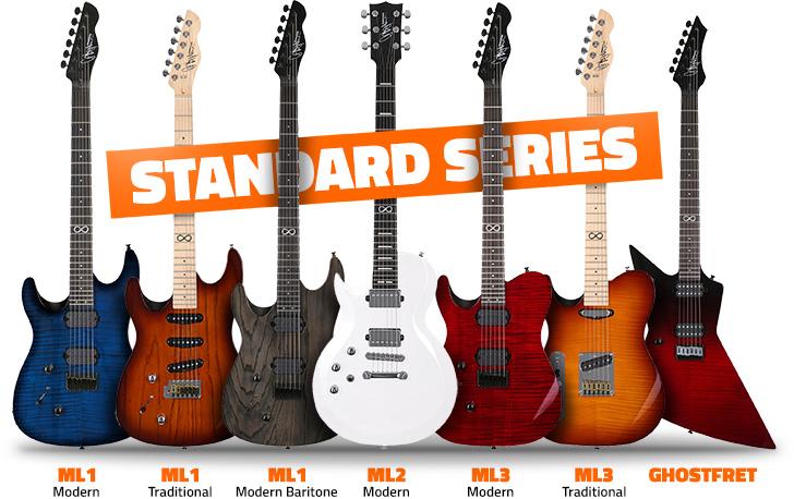 Left Handed Chapman Standard Series Guitars