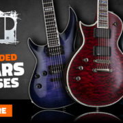Left Handed ESP Ltd Guitars