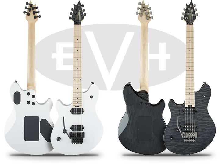 Left Handed EVH Wolfgang Standard Guitars