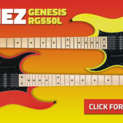 Ibanez Genesis Collection RG550 Left Handed