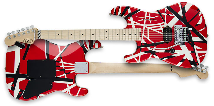 Left Handed EVH Striped Series Guitar
