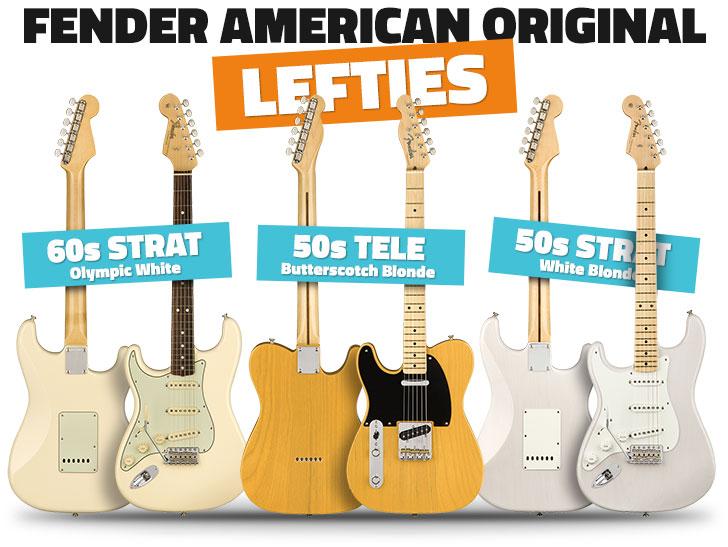Left Handed Fender American Original Series 2018