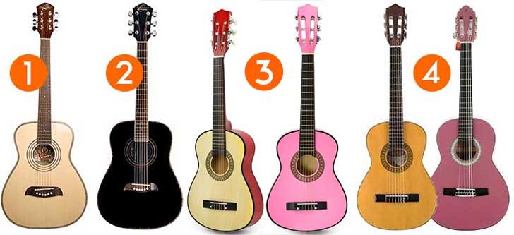 Half Size Left Handed Acoustic Guitars