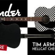 Lefty Fender Hellcat Checkerboard