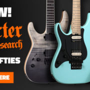 New 2018 Left Handed Schecter Guitars