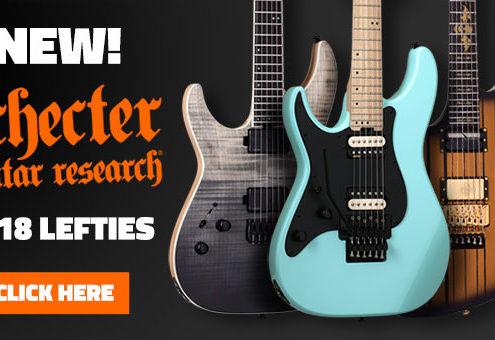 New 2018 Left Handed Schecter Guitars
