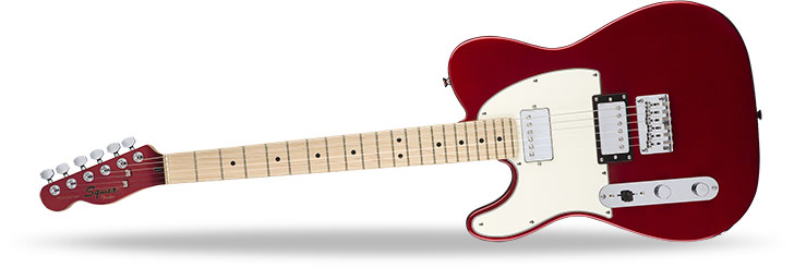 Squier Left Handed Contemporary Telecaster HH