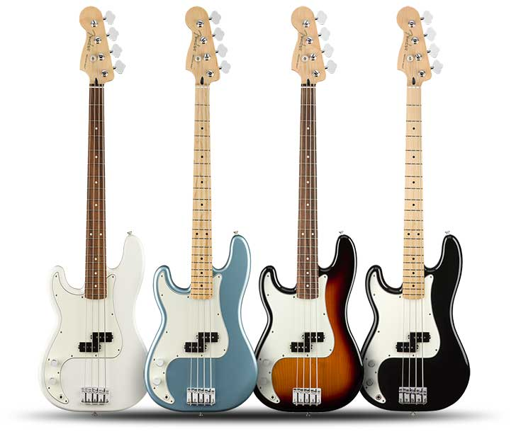 Left Handed Fender Player P-Bass