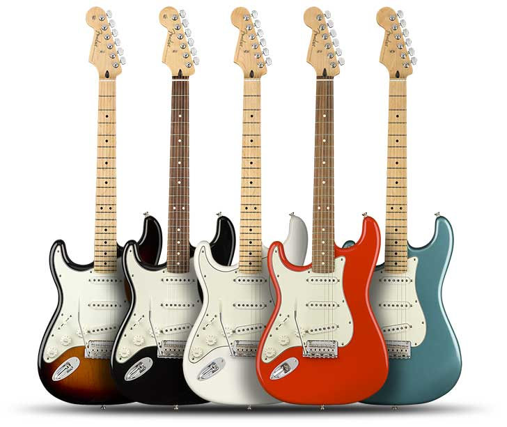 Left Handed Fender Player Stratocaster