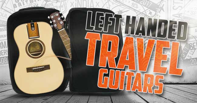 Small Left Handed travel Guitarsac