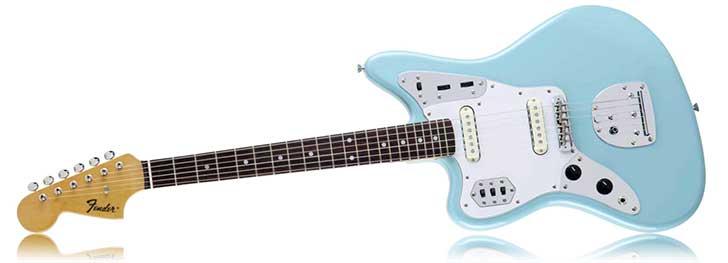 Fender Left Handed FSR Jaguar Daphne Blue