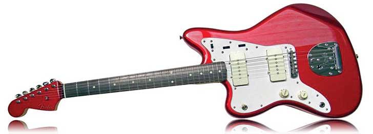 Fender Left Handed FSR Jazzmaster Candy Apple Red