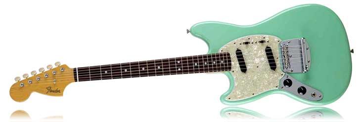 Fender Left Handed FSR Mustang Seafoam Green