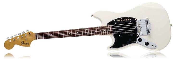 Fender Left Handed FSR Mustang Vintage White