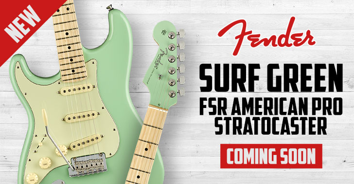 Lefty Fender Limited Edition Stratocaster
