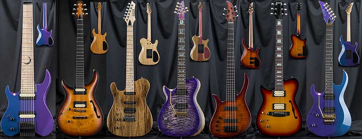 Left Handed Kiesel Guitar Sale Carvin