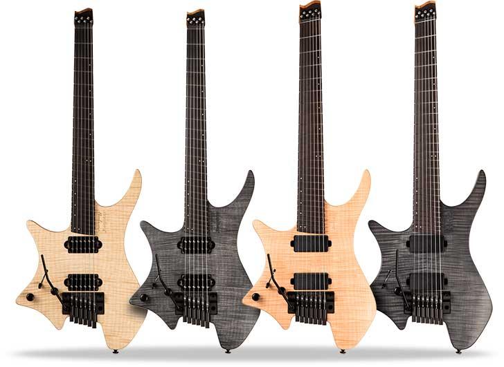 Strandberg Left Handed Boden Prog Guitars
