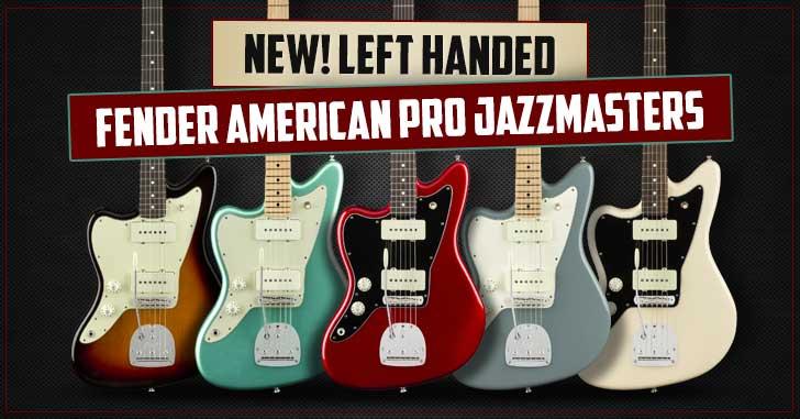 Left Handed Fender Jazzmaster