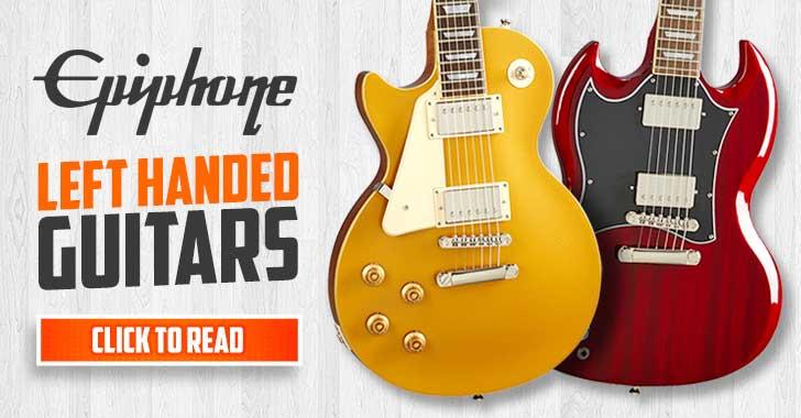 Epiphone Left Handed Guitars
