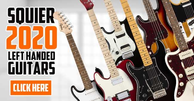 Squier Left Handed Guitars 2020