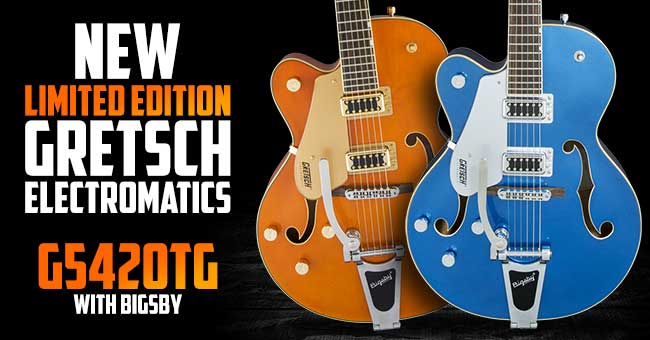Gretsch G5420T Bigsby Left Handed Electromatic Guitars