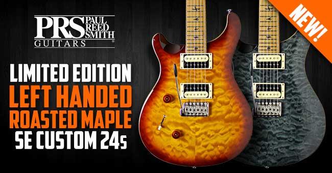 PRS SE Custom 24 Limited Edition Left Handed
